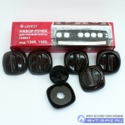 """Комплект ручек для газовой плиты """"GEFEST"""" мод. 1300, 1500 (коричневые)"""