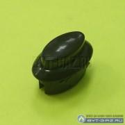 Кнопка ТУП автоматики духовки газовой плиты Гефест-1100, GEFEST-1500, Гефест-3100 (1100.069.0.000-04) коричневая