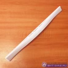 """Ручка дверки духовки """"GEFEST"""" 1100, 1200, С5, С6, С7, белая, широкая (1200.18.0.005)"""