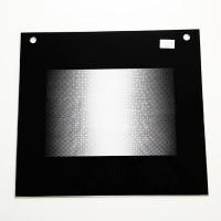 """Стекло наружное """"GEFEST"""" 2160, 3200 К62, черное (498*443 мм)"""