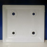 "Стол плиты ""DARINA"" GM441, GM442, КM441, без эл. розжига (500*500 мм) белый (108 311-02)"