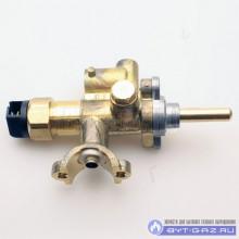 Кран горелки ГМ 10.000.000-04 №49 (под клемму) с газ.контролем (природный газ)